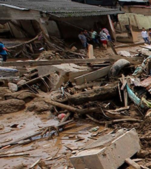 """Überschwemmung in Kolumbien: """"Eine einzige Anklage gegen die Energiekonzerne"""""""