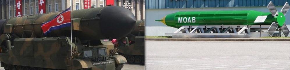 """Kriegsgefahr: USA werfen """"Mutter aller Bomben"""" ab - Nordkorea droht mit Atomschlag! Jetzt erst recht auf zum Ostermarsch!"""