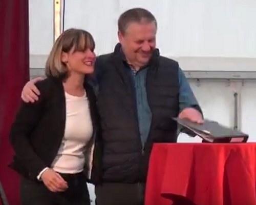 Kurzfilm und Bildreport von der festlichen Übergabe des MLPD-Parteivorsitzes sind online