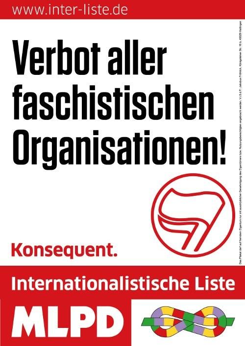 """""""Nein"""" zur rassistischen und faschistoiden AfD in Köln"""