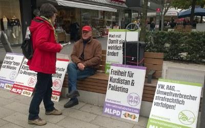 Internationalistische Liste / MLPD auf der Straße