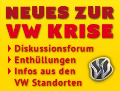 Protest bei der VW-Jahreshauptversammlung