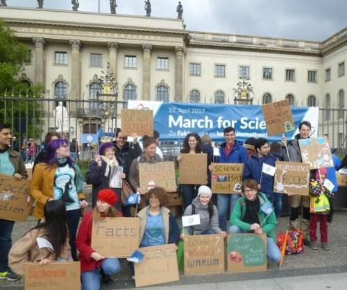 March of Science: Über 10.000 Menschen auf der Straße