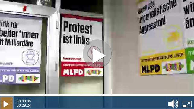 Internationalistische Liste/MLPD im WDR-Fernsehen