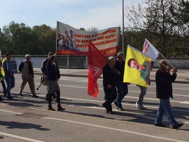 MLPD Ingolstadt solidarisch mit kurdischen Freunden