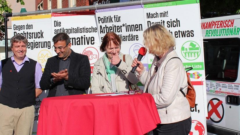 SPD-Grünen-Landesregierung scheitert - Toller Wahlkampf der Internationalistischen Liste/MLPD und unübersehbare Zuwächse