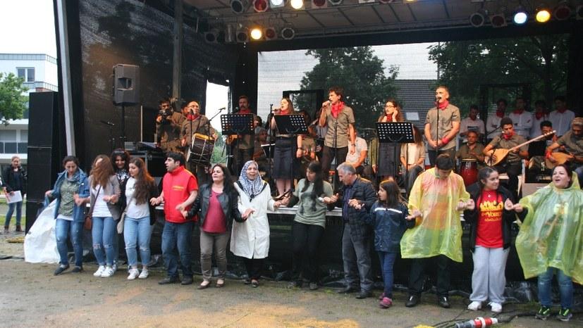 Messegelände Fulda für Grup Yorum!