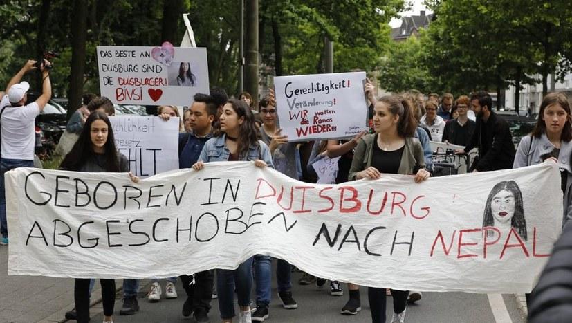 Demo für die Rückkehr von Bivsi