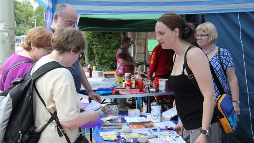 Spannende Gesprächsrunden beim Horster Mitte-Sommerfest