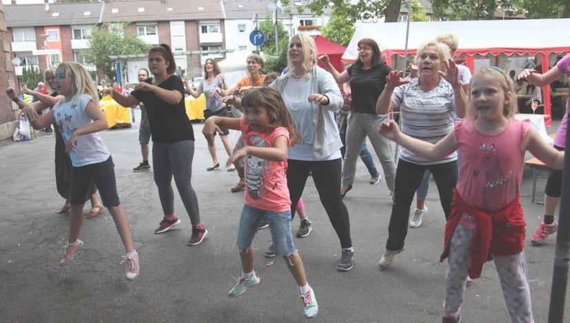 Gabi Gärtner eröffnet das Horster Mitte Fest