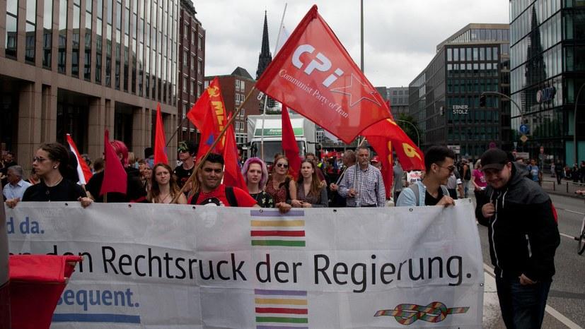 Erfolgreiche kämpferische antiimperialistische Demo zog durch Hamburg