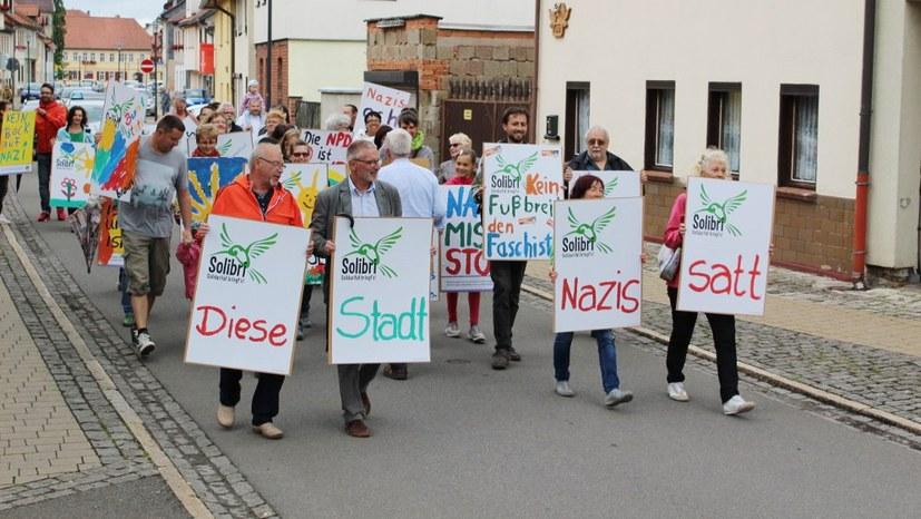 Kein Fußbreit den Faschisten: weder am 1. noch am 15. Juli