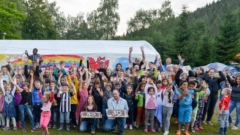 Sommercamp solidarisch mit Flüchtlingen!
