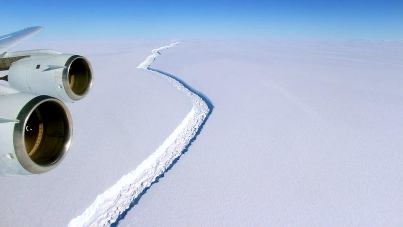 Riesiger Eisberg abgebrochen - Schelfeise zerfallen