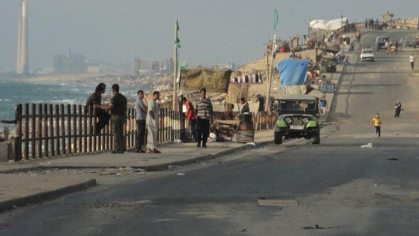 Verschmutzte Strände wegen Stromkürzung in Gaza