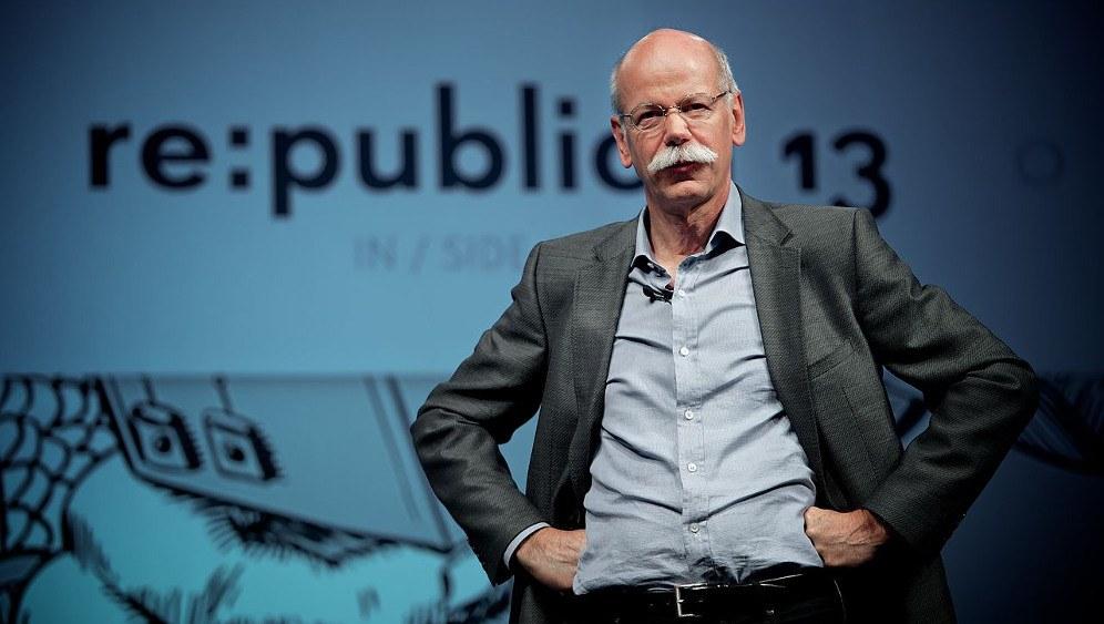 Daimler-Chef Dieter Zetsche hofft auf ein