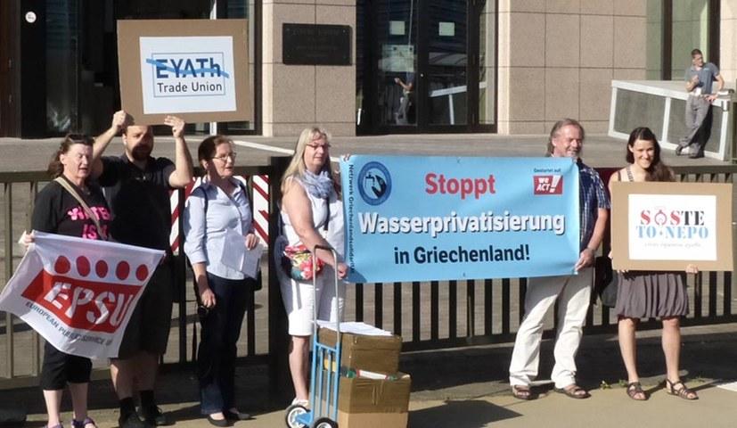 190.000 Unterschriften gegen Wasserprivatisierung in Griechenland
