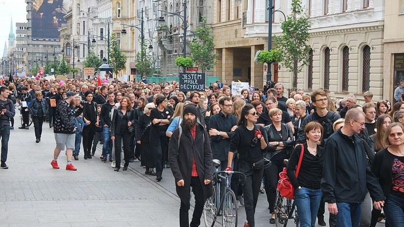 Massenprotest gegen polnische Regierung