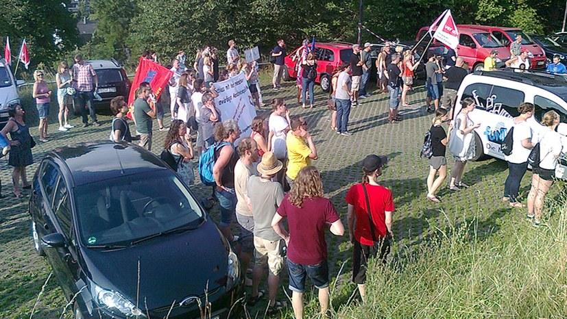 Gelungene antifaschistische Aktion