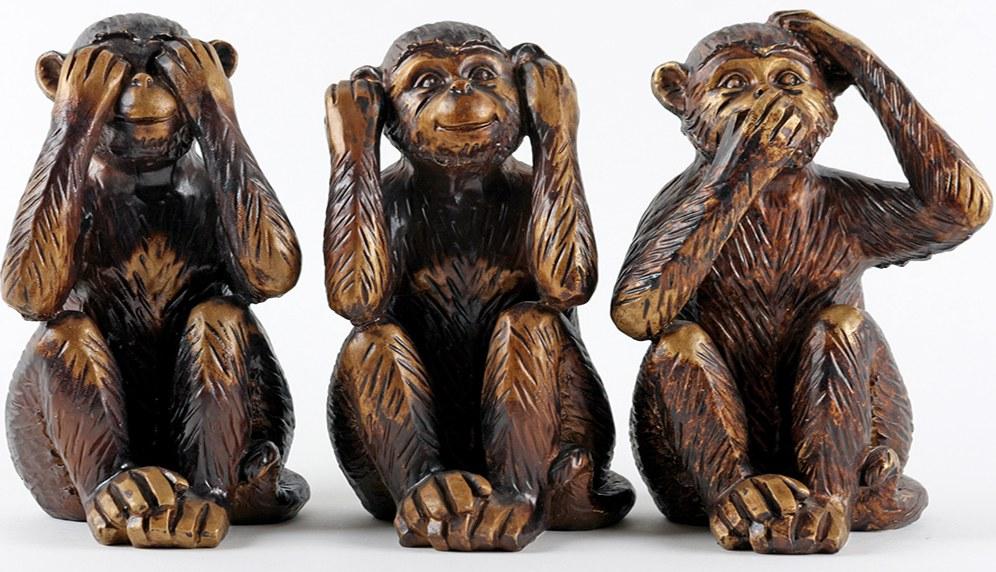 Nichts sehen, nichts hören, nichts sagen - nicht mit uns! (abbildung: fotolia #12937769 | Urheber: Bilderjet medi@)