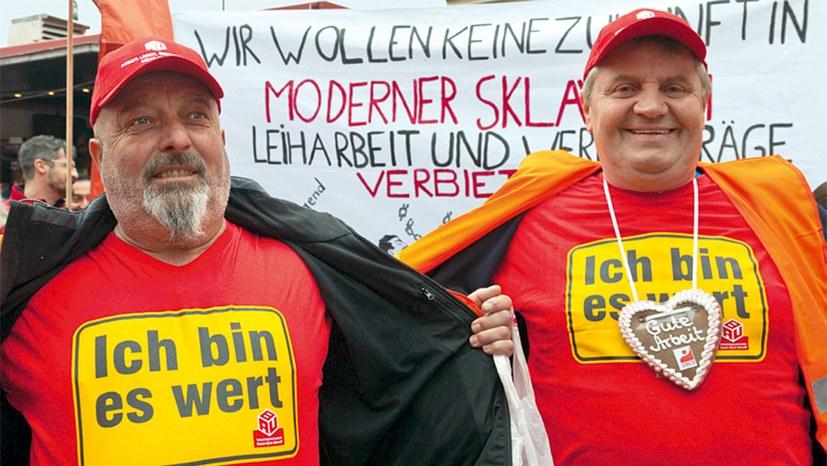 Leiharbeiter fordern von VW gleichen Lohn