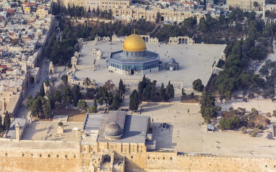Tempelberg in Jerusalem (foto: Godot 13 / Andrew Shiva / Wikipedia / CC BY-SA 4.0)
