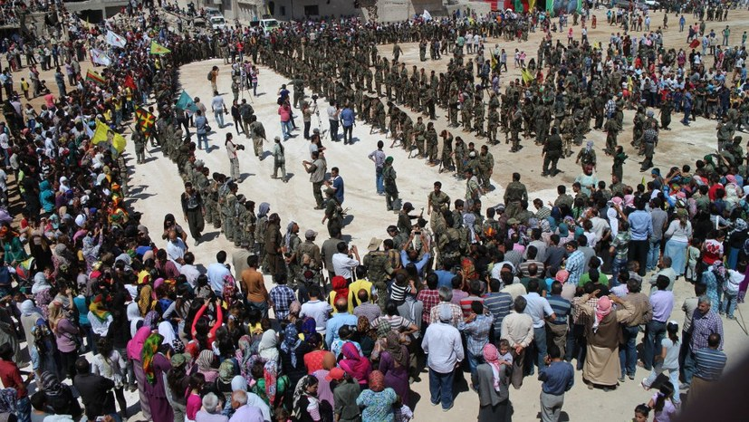 Schutz vor dem IS im kurdischen Rojava