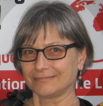 Renate Gorfer, ehrenamtliche Flüchtlingshelferin aus Duisburg