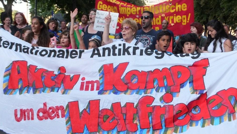 Am Antikriegstag massenhaft auf die Straße!