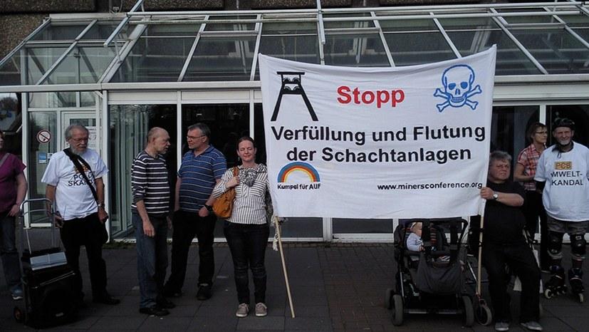 Ruhrkohle AG verklagt