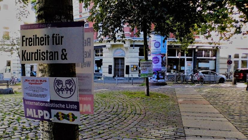 """Hamburg: """"Freiheit für Palästina"""" rausgeschnitten"""