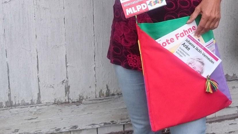Tolle Spendenidee: Wahlkampftasche in Bündnisfarben