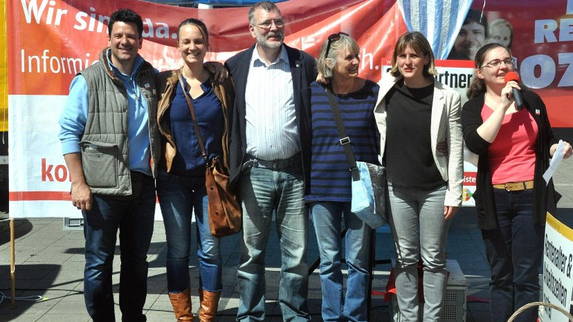 Wahlkampf wie ihn sonst keiner macht: die Internationalistische Liste/MLPD in Dortmund