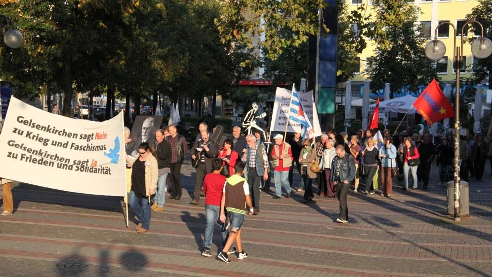 Antikriegstagsaktion 2014 in Gelsenkirchen (rf-foto)