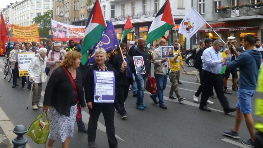 Demonstration in Berlin (RF-Foto)