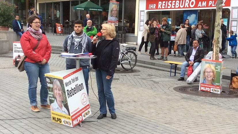 Solidarität mit Siegmar Herrlinger: