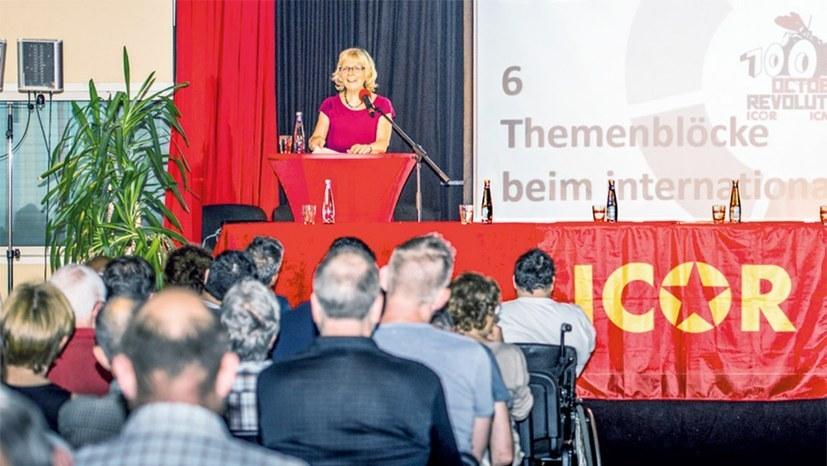 Internationales Seminar zu theoretischen und praktischen Lehren der Oktoberrevolution
