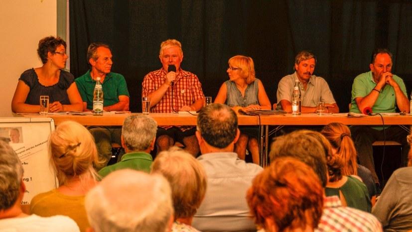Siegmar Herrlinger bei der Veranstaltung