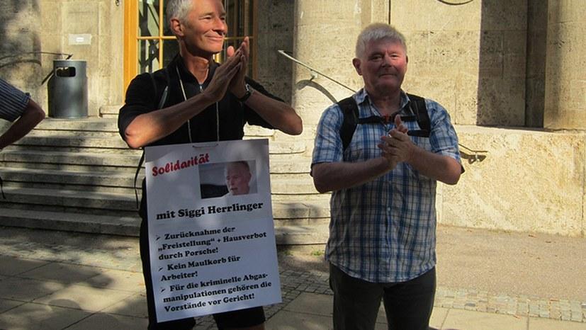 Porsche bedroht Siegmar Herrlinger mit fristloser Kündigung