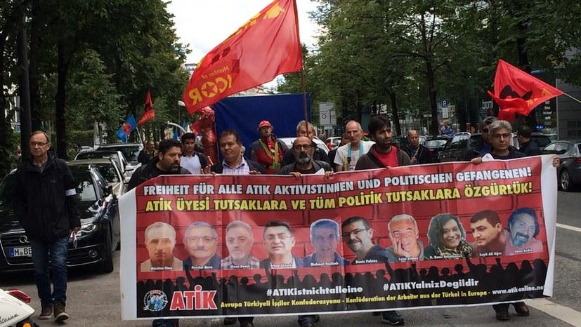 Internationale Solidarität der Revolutionäre
