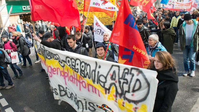 Protest ist links – fortschreitende Entzauberung der AfD