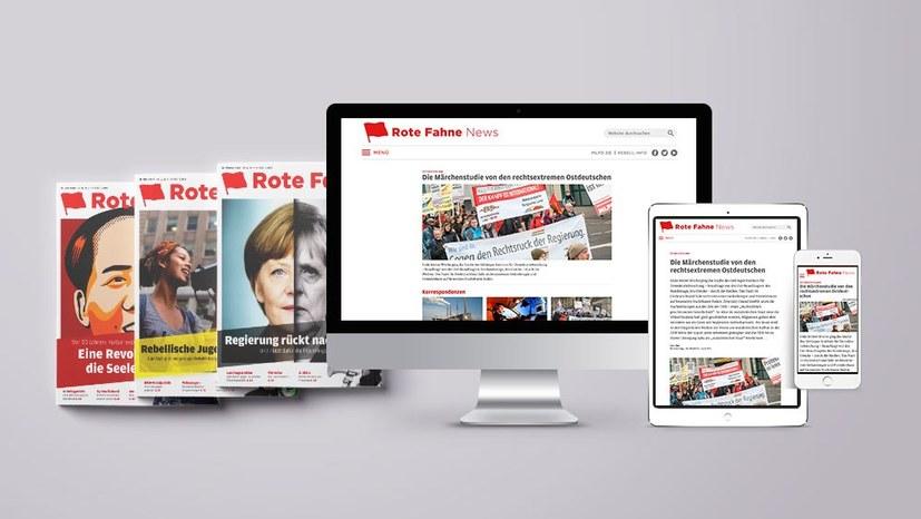 Neue Funktionen bei Rote Fahne News