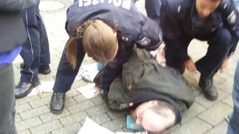 Straßenwahlkampf wird von Polizei behindert
