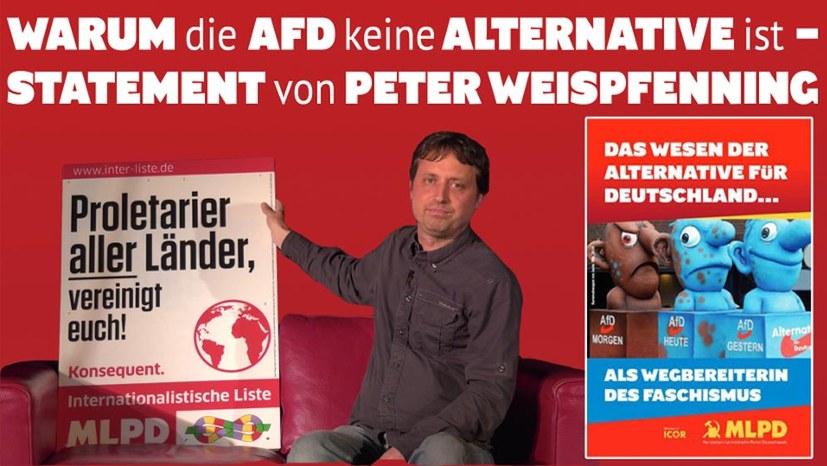 """""""Die AfD ist keine Alternative!"""""""