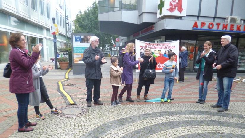 Gelsenkirchen: Diskussion mit Bundestagskandidaten