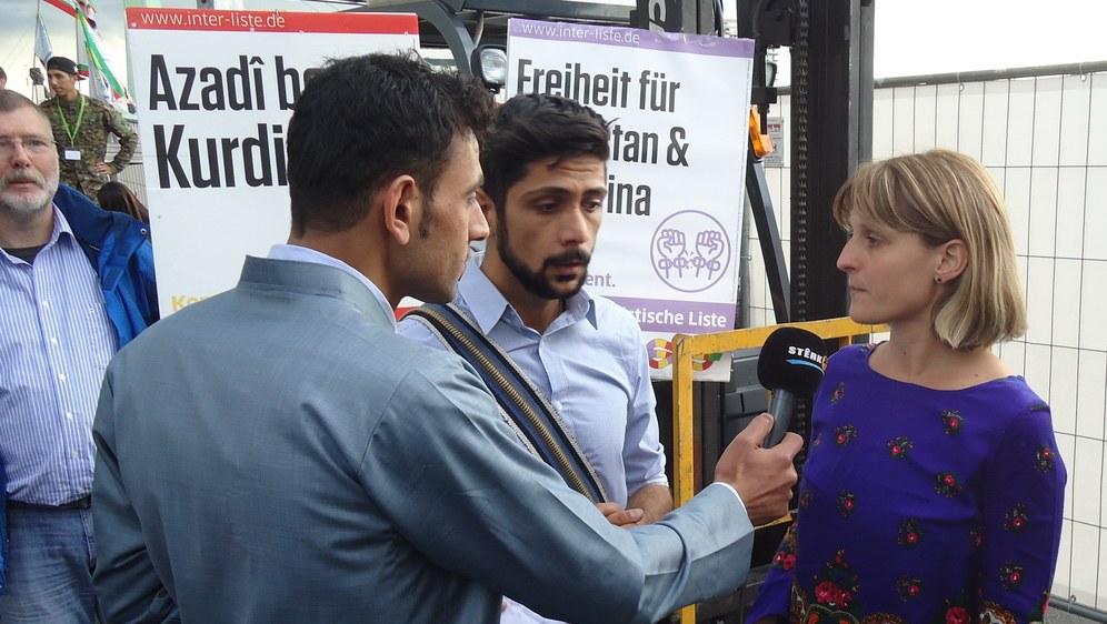 Gabi Fechtner im Interview (rf-foto)
