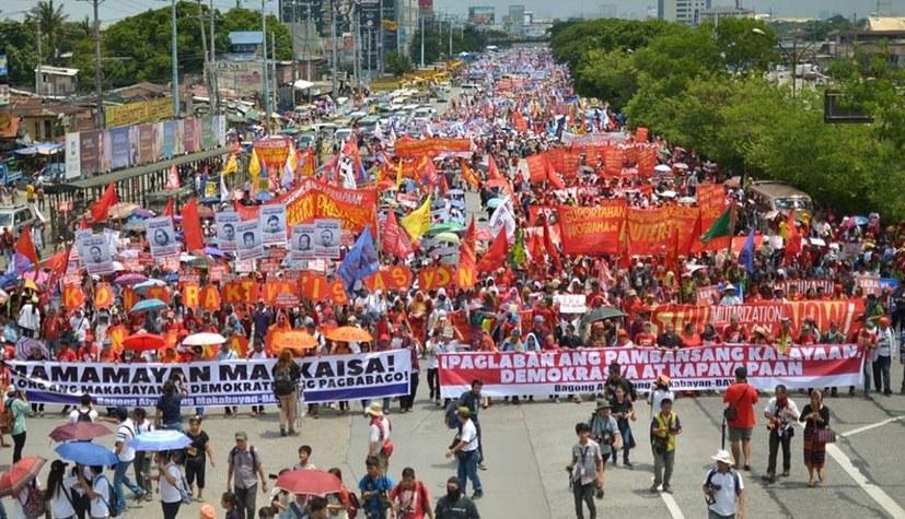 Solidarität mit der Frauenorganisation GABRIELA auf den Philippinen