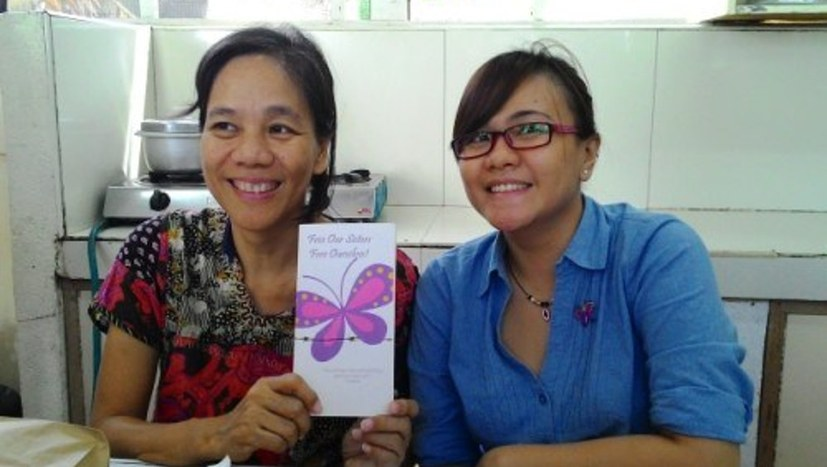 Den Kampf starker Frauen von den Philippinen live erleben