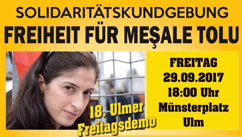Freiheit für Meşale Tolu
