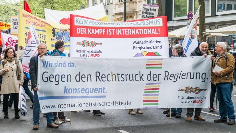 Regierungsbildung auf wackeligen Beinen - Internationalistisches Bündnis stärken!